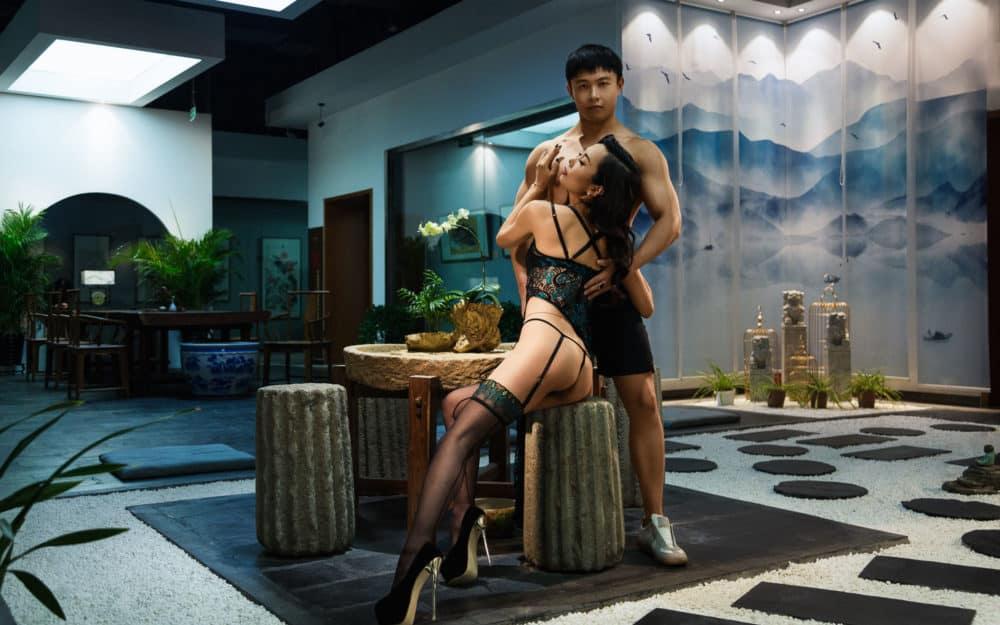 Le photoshoot glamour de Pierre SAGE à pékin en Chine