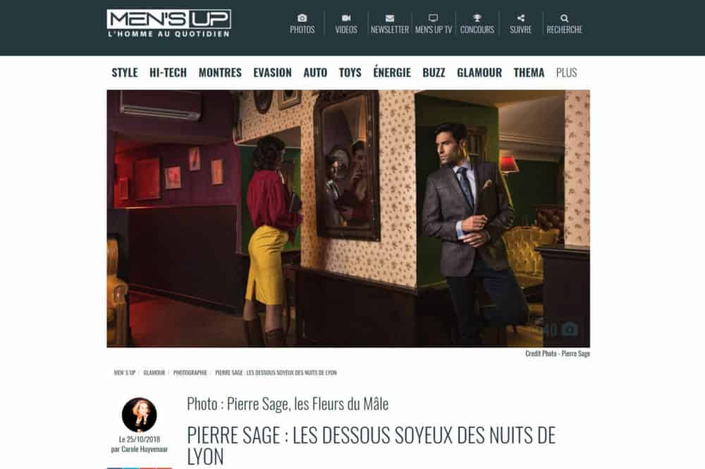 Pierre SAGE article Men'Sup Magazine